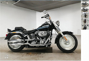 Harley Davidson Fat Boy 1580